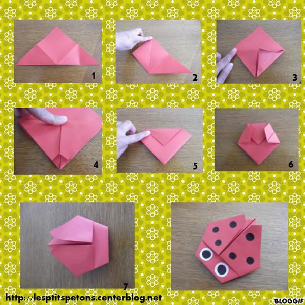 origami facile maternelle. Black Bedroom Furniture Sets. Home Design Ideas