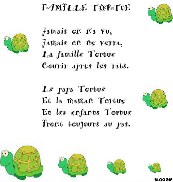 Coloriage La Famille Tortue.Famille Tortue