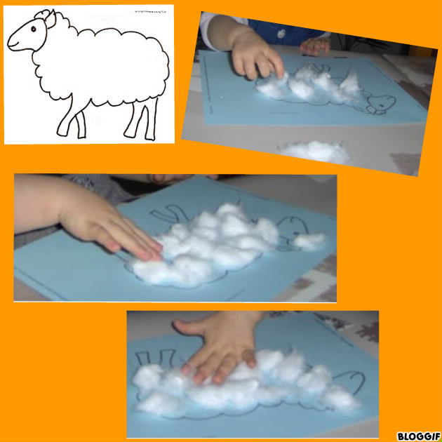 Mouton en coton - Photo de mouton a imprimer ...